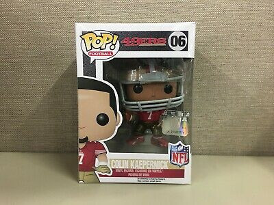 Funko POP! Football: NFL - San Francisco 49ers Quarterback Colin Kaepernick #06