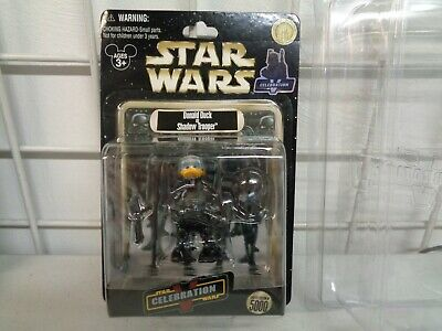 Disney Star Wars Celebration V Donald Duck As Shadow Trooper Figure New