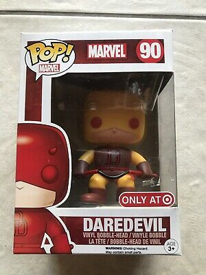Funko Pop! Marvel Daredevil #90 Yellow Target Exclusive Read Description