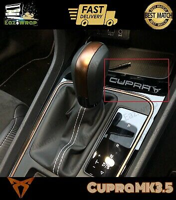 Eaziwrap Seat Leon MK3.5 Cupra Gearbox Decal Vinyl Sticker COPPER or Satin Black