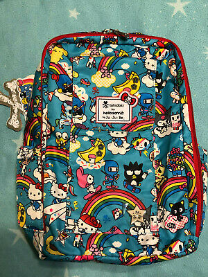 Ju Ju be Tokidoki Rainbow Dreams Be RIght Back Backpack JuJube