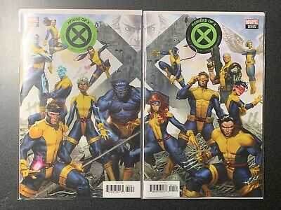 Marvel Comics House Of X Powers Of X #4 Connecting Variants 2019 CASE FRESH NM