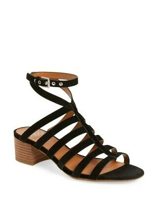 Women/'s Franco Sarto Gili Casual Leather Flat Sandals New Brown 63V