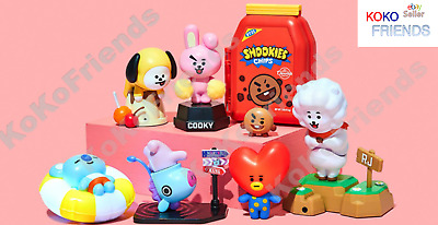 BTS BT21 Official Mini Interactive Figure Toy KPOP MD Authentic + Tracking #