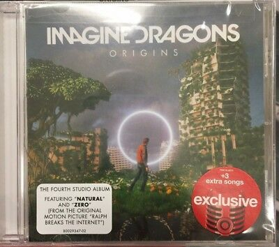 Imagine Dragons Origins 2018 Deluxe Target Exclusive CD Natural, Bad Liar