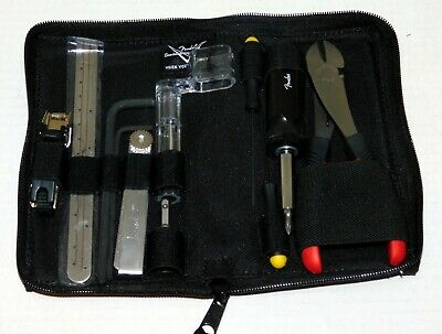 FENDER Stratocaster Telecaster Guitar Custom Shop CruzTools Tool Repair Kit Set