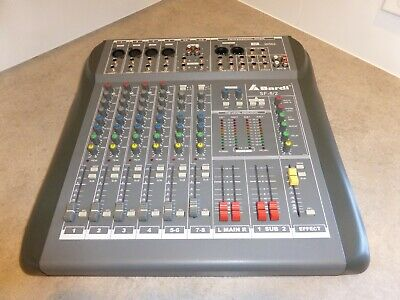 Mixing Desk: Bardl SF:8/2 PA - 8 ChannelProfessional Mixer