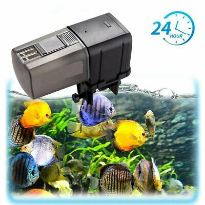 WiFi Automatic Fish Feeder Aquarium Feeder USB Operated Feeding Dispenser VW