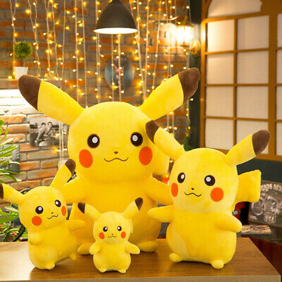 35''Pokemon Character Pikachu Soft Plush Large Stuffed Toys Kid Teddy Doll Gifts