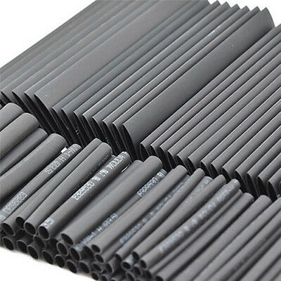 127 Weatherproof Heat Shrink Wire Wrap Sleeving Cable Tubing Tube Assortment LD