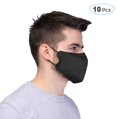 10pcs 3-Layer Disposable Surgical Medical Salon Face Mouth Dust Hygienic Mask