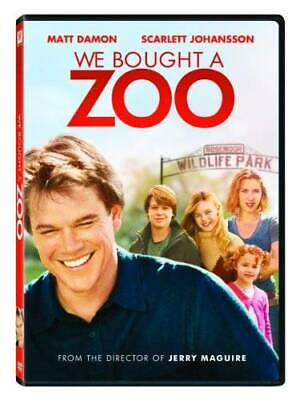 We Bought a Zoo - DVD By Matt Damon,Scarlett Johansson,Colin Ford - VERY GOOD