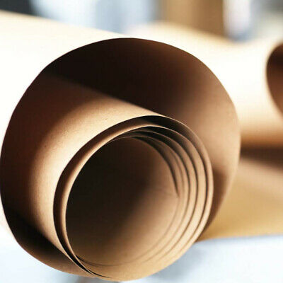 Brown Kraft Paper Roll Shipping Wrapping Craft Cushioning Void Fill 12 HQP