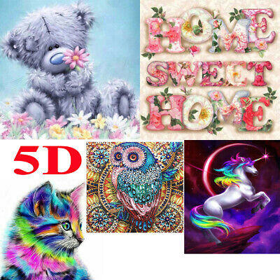 5D diamond painting kits Embroidery Cross Craft Stitch Art Pictures Mural Decor
