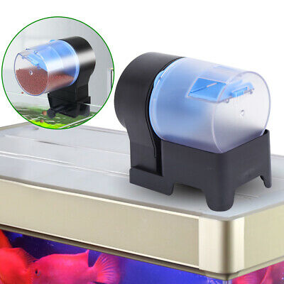 AK-03 Wifi Automatic Fish Food Feeder Feeding Aquarium Tank Pond Auto Dispenser