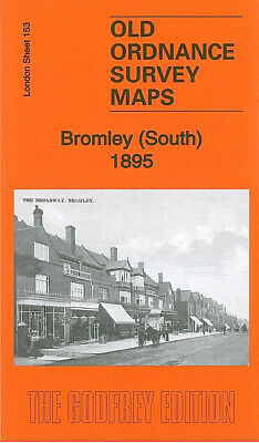 Old Ordnance Survey Maps Bromley South 1895