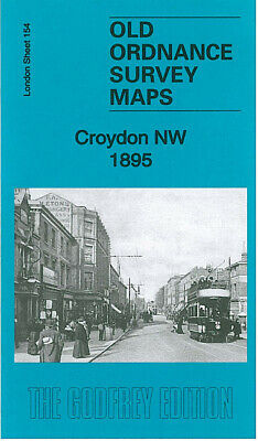 Old Ordnance Survey Maps Croydon Nw 1895
