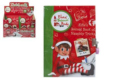 "Elf A5 ""Naughty Tricks"" Diary Props On The Shelf Ideas Toy Christmas"