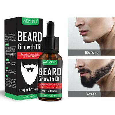 Men Beard Growth Oil Balm Hair Loss Treatment Growth Enhancer Thicker Essence