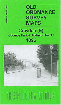 Old Ordnance Survey Maps Croydon East 1895