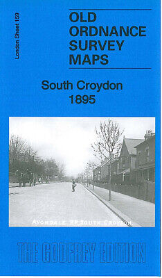 Old Ordnance Survey Maps South Croydon 1895