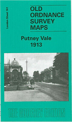 Old Ordnance Survey Maps Putney Vale 1913