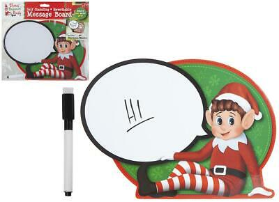 Elf Speech Bubble Wipe Sign Memo Props On The Shelf Ideas Toy Christmas