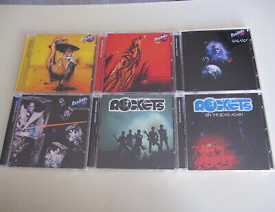 Rockets 6CD Set On The Road Again Plasteroid Galaxy Atomic 3,14