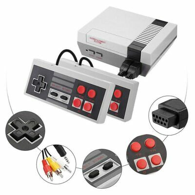 620 Built-in Games For Nintendo Mini Vintage Retro TV Game with 2 Controllers