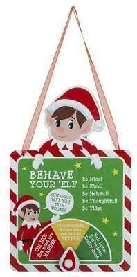 Behave Elf Naughty Or Nice Meter Props On The Shelf Ideas Toy Christmas