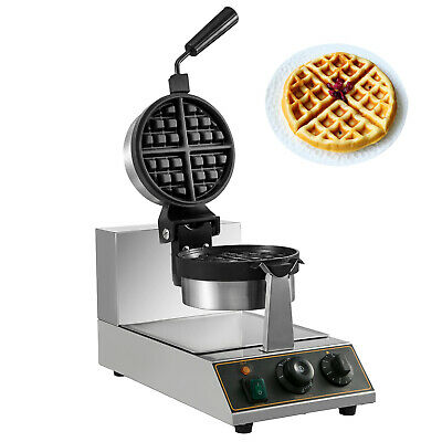 Gaufrier Commercial Machine à Gauffre Bubble Professionnel Waffle Rotatif à 180°