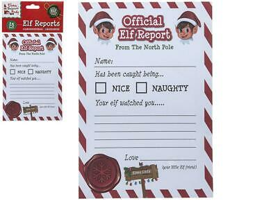 25 A5 Elf Reports Props On The Shelf Ideas Toy Christma