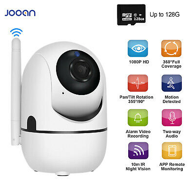 JOOAN 1080P Wireless WiFi IP Security Camera Home CCTV System Baby Pet Monitor