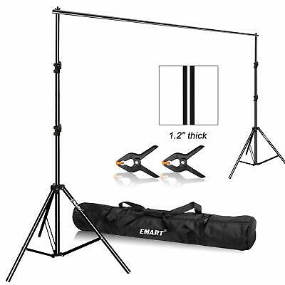 Emart Photo Video Studio 9.2 x 10ft Heavy Duty Background Stand Backdrop Suppo..
