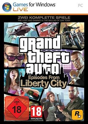 GTA - Grand Theft Auto: Episodes from Liberty City PC Download Vollversion Steam