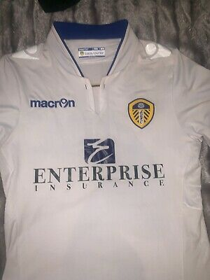 Leeds United 2014/15 Home Shirt (Body Fit) Men's Small