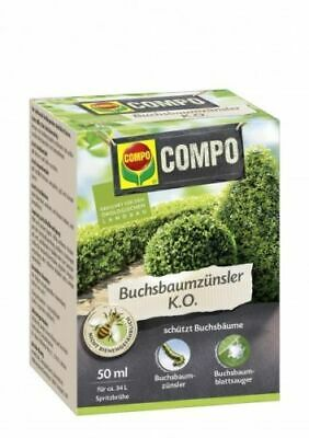 Compo pour Buis K. ou 50 ML Insecticide Buchsbaumhecke Buis