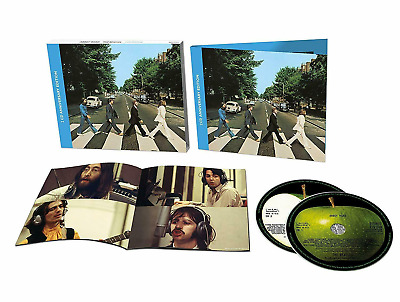 THE BEATLES ABBEY ROAD 50th ANNIVERSARY 2CD UK Edition & new mixes & out-takes