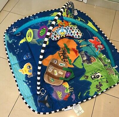 Baby Einstein 5 in 1 Journey of Discovery Baby Activity Gym Playmat Tummy time