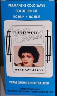 HollyWood Curly Perm - The Glossy Wet Look Perm Creme & Neutraliser