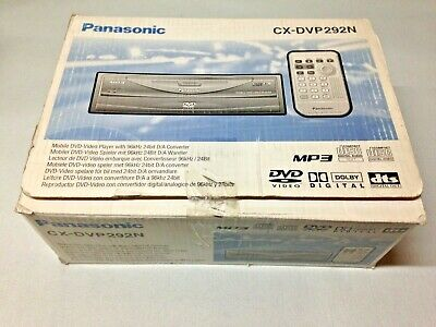 Panasonic CX-DVP292N In Car DVD CD Player