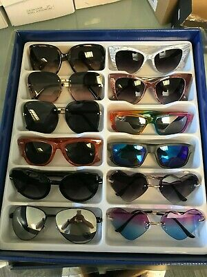 Job Lot 24 pairs of assorted sunglasses - Car Boot - Resale - Wholesale -REF445