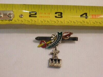 Vintage German Bavarian Octoberfest Hat Pin Brooch -  INNSBRUCK