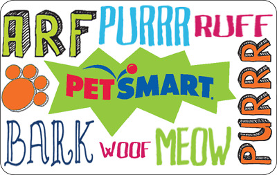 PetSmart Gift Card - $25 $50 or $100 - Email delivery