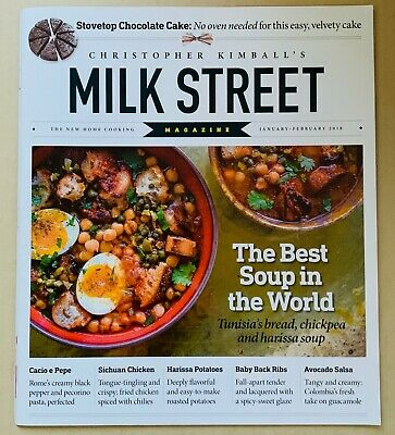 Milk Street Magazine by Christopher Kimball - January - February 2018