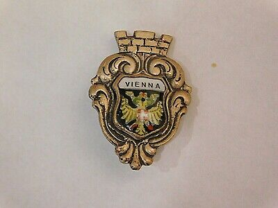 Vintage German Bavarian Octoberfest Hat Pin Brooch -  VIENNA