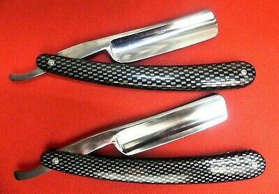 Two Shave Ready Gold Dollar 208 Straight Razors