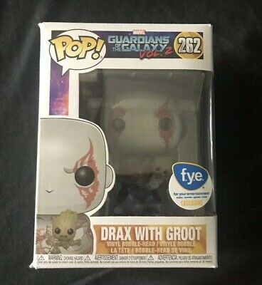 Funko Pop Drax With Groot FYE EXCLUSIVE GUARDIANS OF THE GALAXY VOL 2 #262
