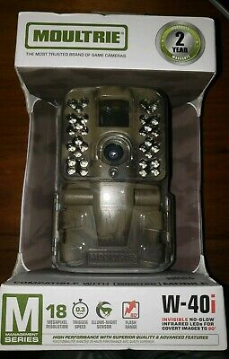 Moultrie W-40I 18Mp Management Series Digital Game Camera - New!