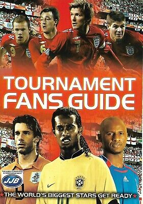 Four Four Two Magazine 212x150mm Booklet (2006), Tournament Fans Guide